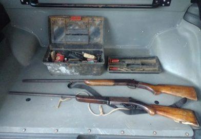 Polícia Civil prende três pessoas e apreende armas e munições em São Lourenço do Oeste