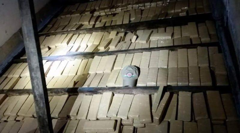 550 quilos de Maconha são apreendidos em Maravilha