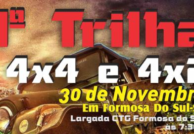 1ª Trilha 4×4 e 4×2 – Formosa Gaiola Jeep Clube