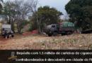 Brasil Depósito com 1,5 milhão de carteiras de cigarros contrabandeados é descoberto em cidade do PR
