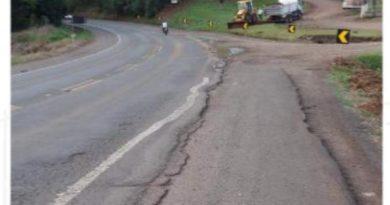 DNIT e empresa são condenados por serviço malfeito em rodovias do Oeste de SC