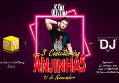 3º Costelão das Anjinhas – 17/11 – Quilombo