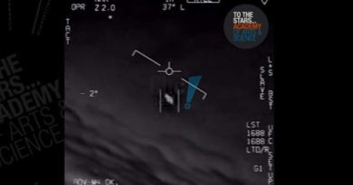 Marinha dos Estados Unidos confirma que vídeos de OVNIs são reais