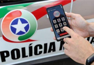 Aplicativo permite cidadão possa acionar a Polícia Militar sem ligar para o 190