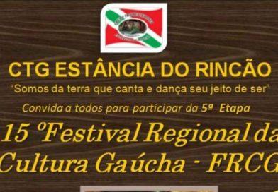 15º Festival Regional da Cultura Gaúcha – Quilombo