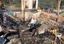 Criança de um ano morre queimada após padrasto colocar fogo em casa no Oeste