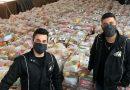 Léo e Gian – Dupla do Oeste de SC, arrecada mais de 60 toneladas de alimentos em Live