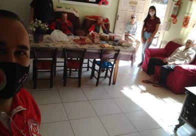 Consulado Colorado de Quilombo realiza ação social
