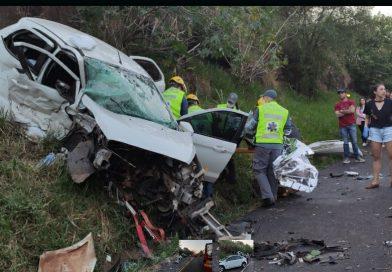 Acidente deixa várias pessoas feridas na BR 282 em Nova Erechim