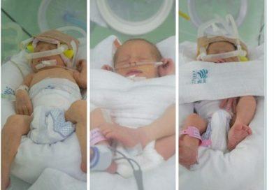 Hospital de Xanxerê registra nascimento de trigêmeas