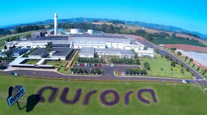 Aurora é o terceiro grupo agroindustrial Brasileiro do segmento de carnes