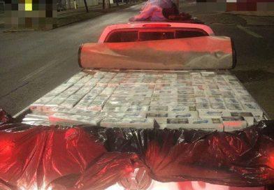 Mais de 12 mil carteiras de cigarros contrabandeados são apreendidas em Chapecó
