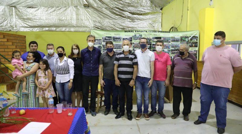 Deputado Libera emanda para projeto de asfalto de Quilombo a Jardinópolis