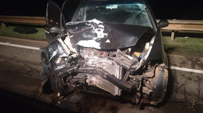 Novo acidente envolvendo carro e ônibus é registrado na sc-157